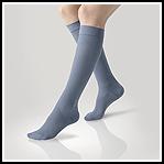 Ciorap medicinal Gilofa 2000 cu bumbac pana la genunchi